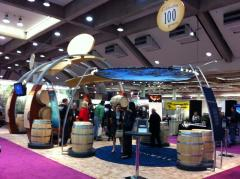 The 100th birthday party for Cooperage. The barrels everywhere were splendid.