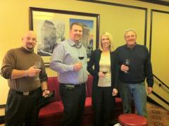 Another grouping of our team: Jeff Cameron, Paul Giese, Janessa Meyer, Cary Giese