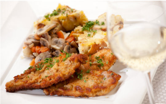 schnitzel-and-wine