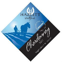 hazlitt-chardonnay-label
